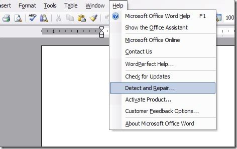 Microsoft Office Work How To Repair Damaged And Corrupted Office Documents Easily