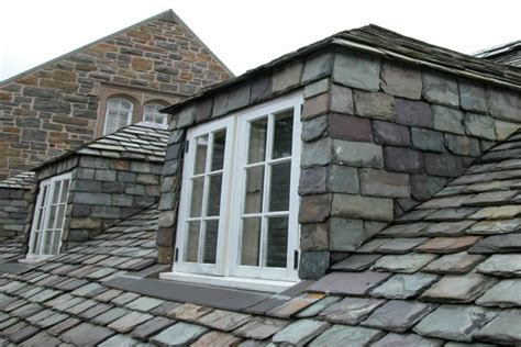 Dormer Roof Repair Historic Slate Roof Repair Heavy Grade Random Width