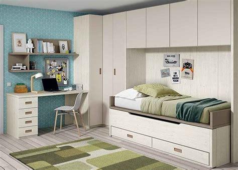 armario habitacion infantil dormitorio infantil con 2 camas armario rinc 243 n puente y