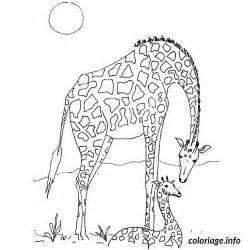coloriage giraffe jecolorie