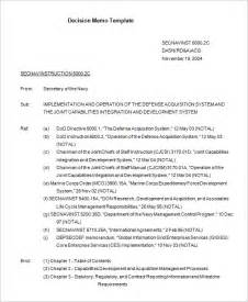 navy memo template 8 decision memo templates free word pdf documents