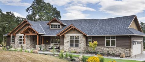 country ranch home with wrap around porch