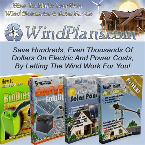 build a wind generator clickbank