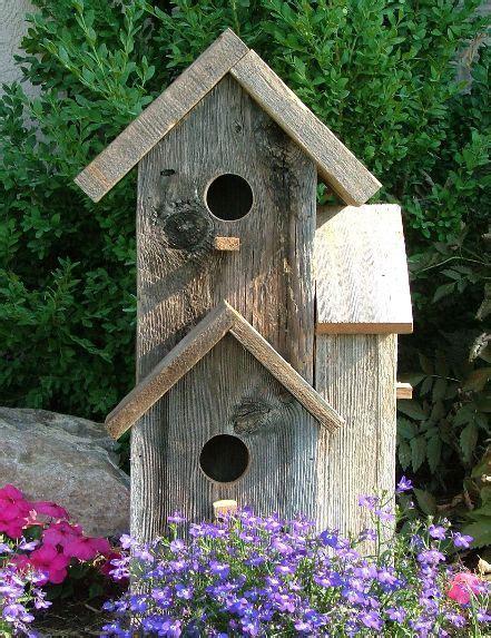 rustic birdhouse birdhouses pinterest