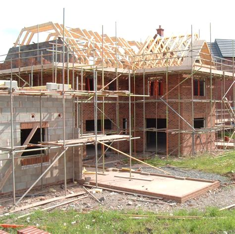 building a house sector drives growth across uk building sector