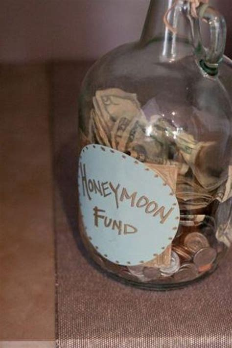unique wedding gifts on a budget honeymoon fund wedding ideas