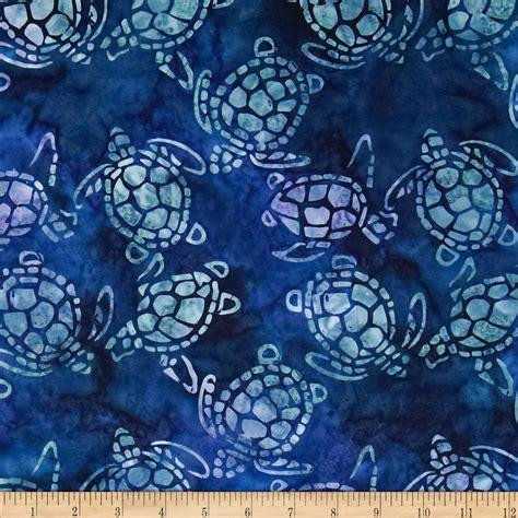 African Print Upholstery Fabric Michael Miller Batik Sea Turtles Calypso Discount