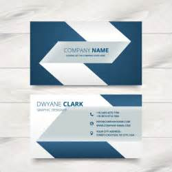 creative simple business card design vector free