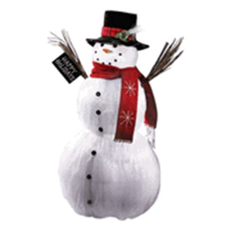 fiber optic snowman 38 quot