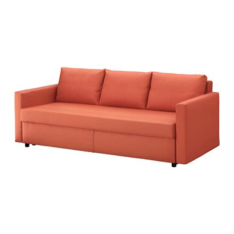 orange ikea couch friheten sofa bed skiftebo dark orange ikea