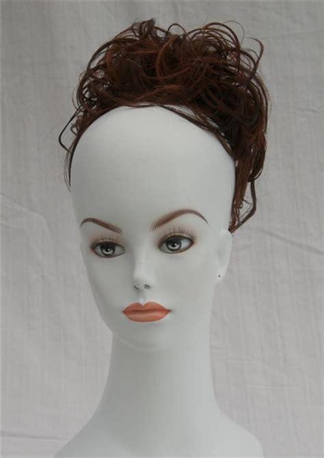 black women clip onm hair buns messy bun updo clip on hair piece black brown chignon ebay