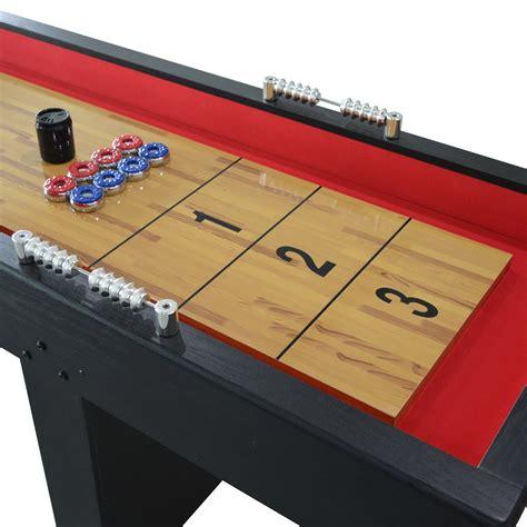 9 ft shuffleboard table avenger 9 ft recreational shuffleboard table pool warehouse