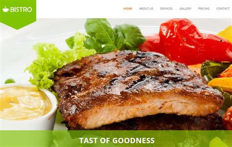 bootstrap templates for restaurant restaurant bootstrap html5 template free download webthemez