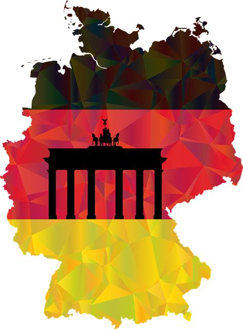 map of deutschland germany republic germany deutschland 183 free vector graphic on pixabay