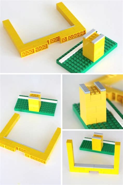 paper football with lego goal posts screen free