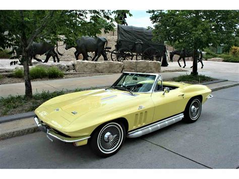 vintage corvette for 1966 chevrolet corvette for sale classiccars com cc 986337