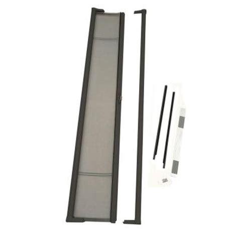 retractable screens for doors home depot odl 36 in x 97 in brisa bronze retractable screen
