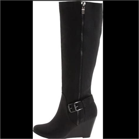 70 bcbg boots brand new bcbg black leather knee