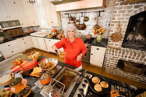 paula deen kitchen design amazing spaces blog the home kitchens of famous chefs