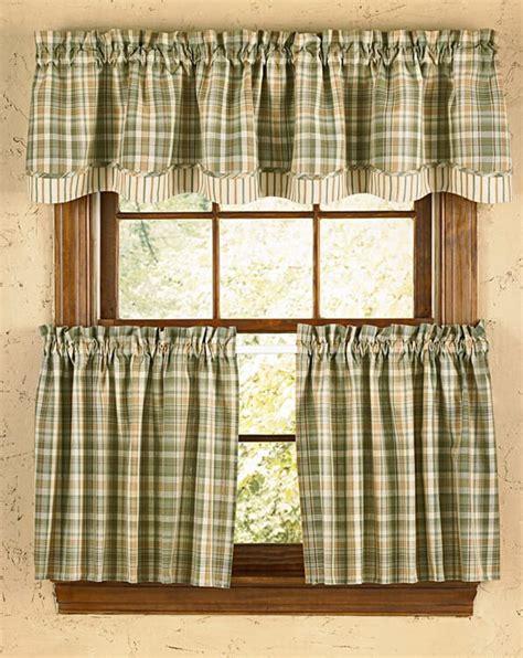 Rosemary Lined Layered Curtain Valance