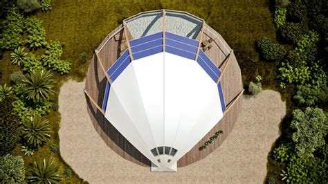solaleya shell shaped pearl passive solar house inhabitat green design innovation