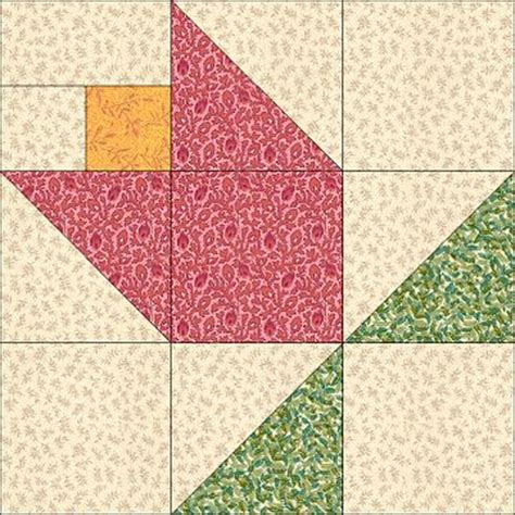 Patchwork Block Of The Month - block of the month february 2002 quilt block ideas