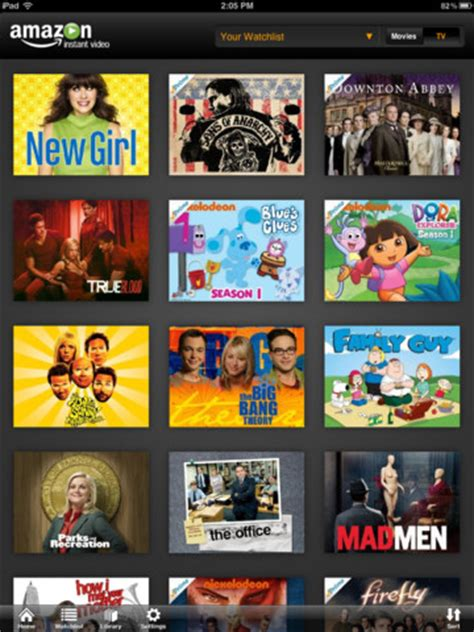 amazon instant video app hits google tv slashgear amazon instant video app for ipad hits the app store with