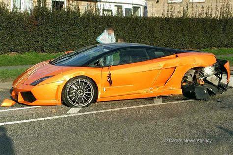 Lamborghini Leicester Lamborghini Gallardo Unfall In Leicester Bilder