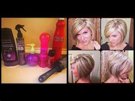 how to blow dry a bob hairstyle youtube video tutorial on how i do my hair fall 2014 hair