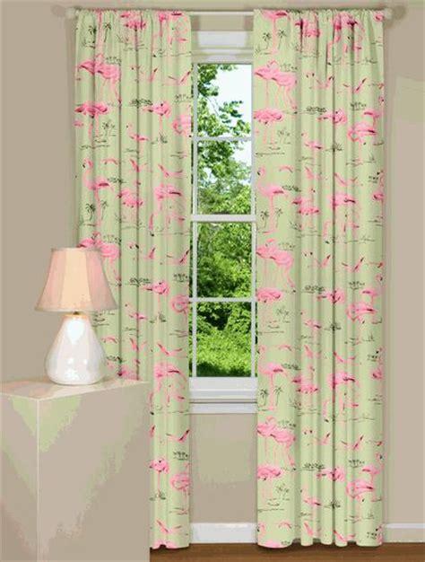 flamingo curtains flamingos curtains b decorating pinterest