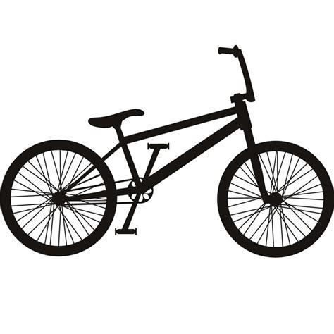 Biker Friendly Sticker by Bmx Bike Silhouette Bike Bmx Cycling Wall Stickers Sport