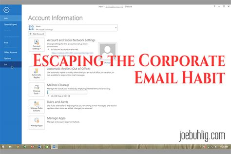 email corporate escaping the corporate email habit