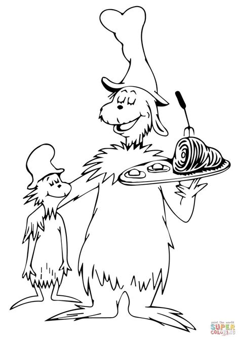 eggs and ham coloring page green eggs and ham coloring page young womens