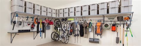 garage shelving monkey bar storage