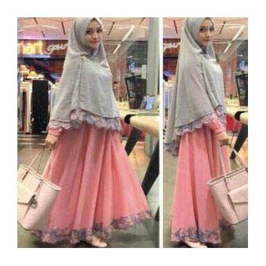 Baju Muslim Anak Maxi Anak supplier baju muslim maxi dress murah jual gamis syari