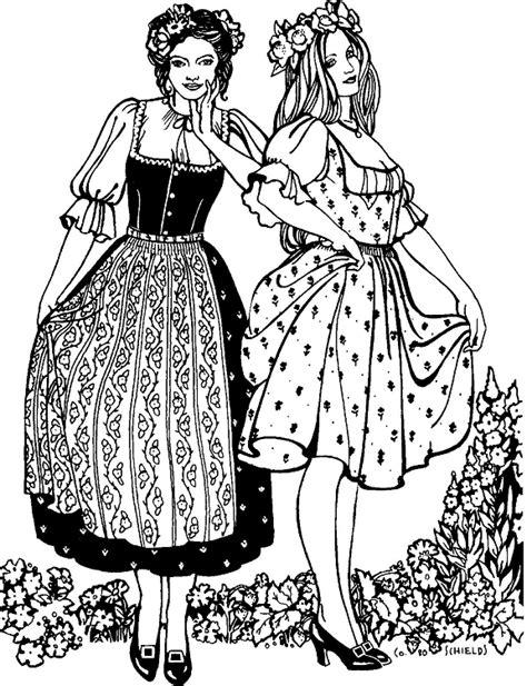 pattern for dirndl apron folkwear austrian dirndl dress 123 renaissance blouse