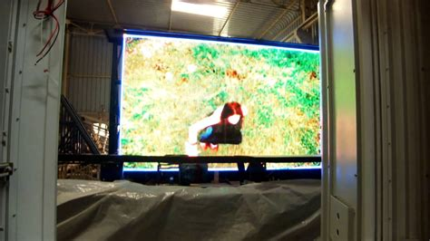 Sewa Led Display Indoor Outdoor p10 outdoor color led display screen
