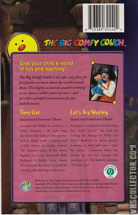 the big comfy couch vhs big comfy couch why vhs pictures to pin on pinterest