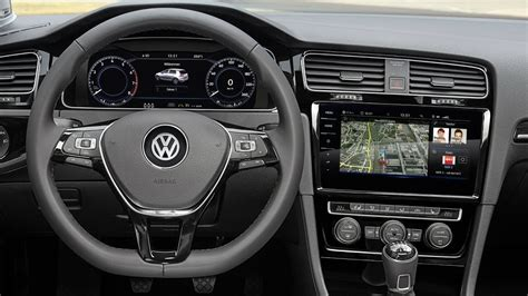 volkswagen golf interior 2017 volkswagen golf mk7 facelift interior