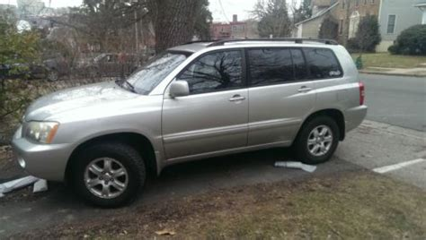Toyota Highlander Warranty Sell Used 2003 Toyota Highlander V6 4wd Excellent