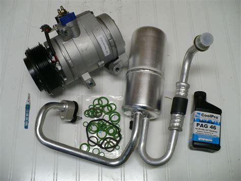 auto air conditioning repair 2010 ford f350 free book repair manuals ac a c compressor kit fits 2008 2010 ford f 350 super duty 6 4l diesel only ebay