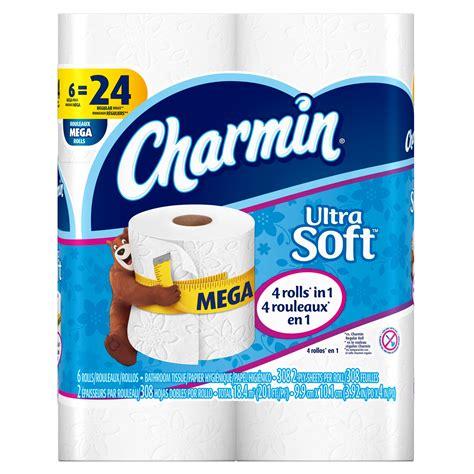 Who Makes Charmin Toilet Paper - charmin ultra soft toilet paper 6 mega rolls jet