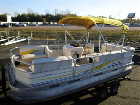 party barge boats for sale in louisiana sun tracker party barge 21 signature series boats for sale
