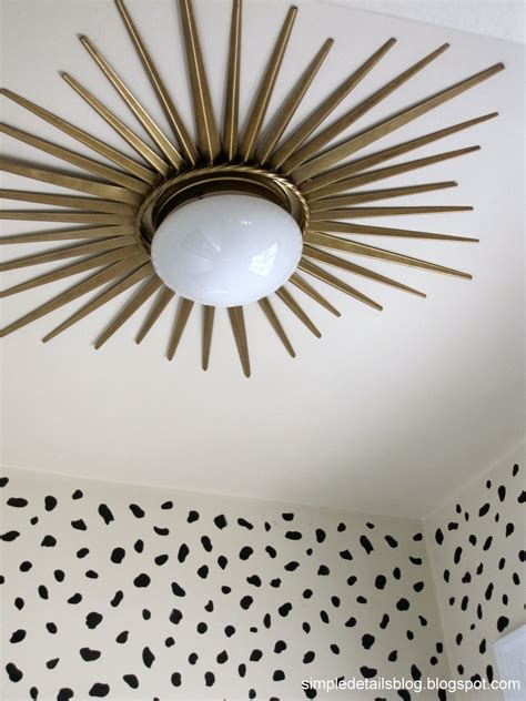 Diy Ceiling Light Miss Dixie Diy Gold White Beaded Chandelier