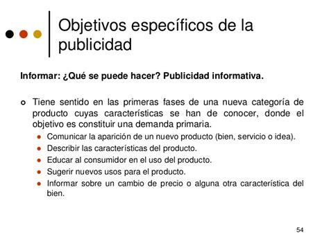 agencia para la promoci 243 objetivos de la publicidad c4 desarrollo de estrategias de