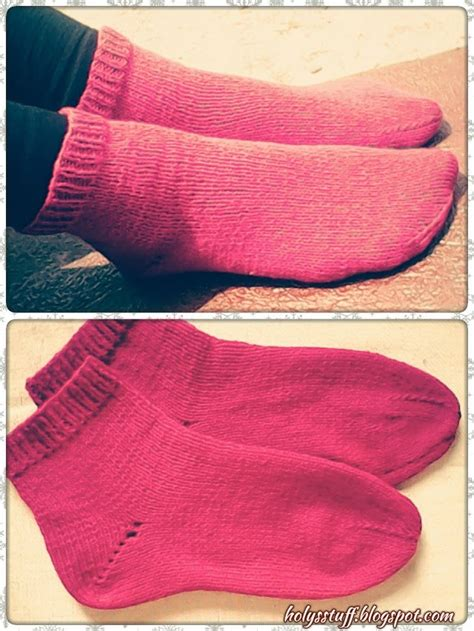 knitting pattern for socks using two needles free pattern easy knitted straight needle socks holy s