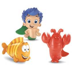 bubble guppies gil mr grouper lobster bath squirters