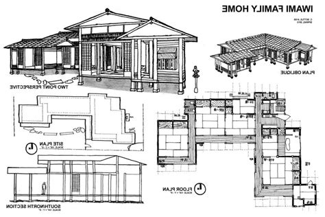 japanese style house plans ancient japanese architecture floor plans