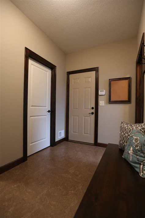 White Interior Doors With Stained Wood Trim White Interior Doors With Stained Wood Trim Photo