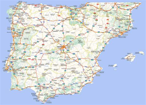 mapa de carreteras de mapa de carreteras de europa